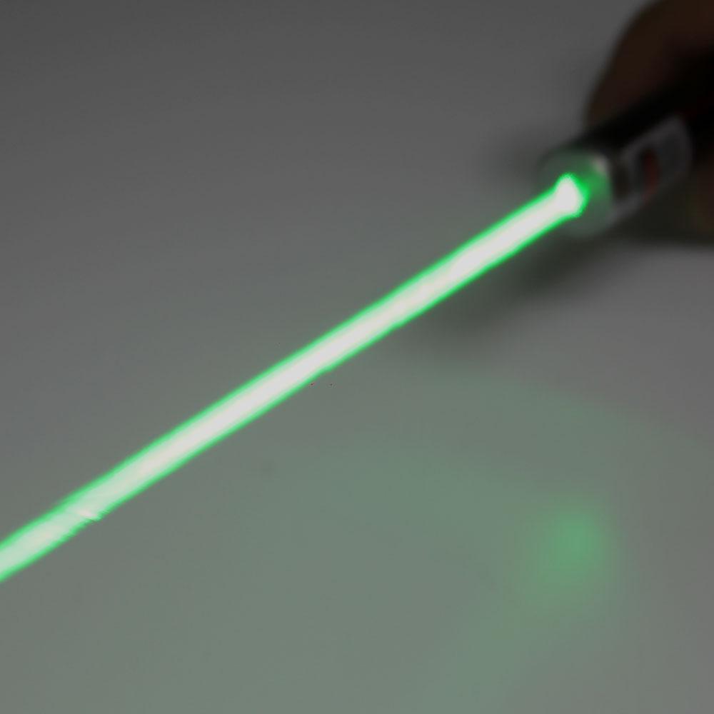 400mW 532nm verde usb recarregável de cobre fino ponteiro laser azul