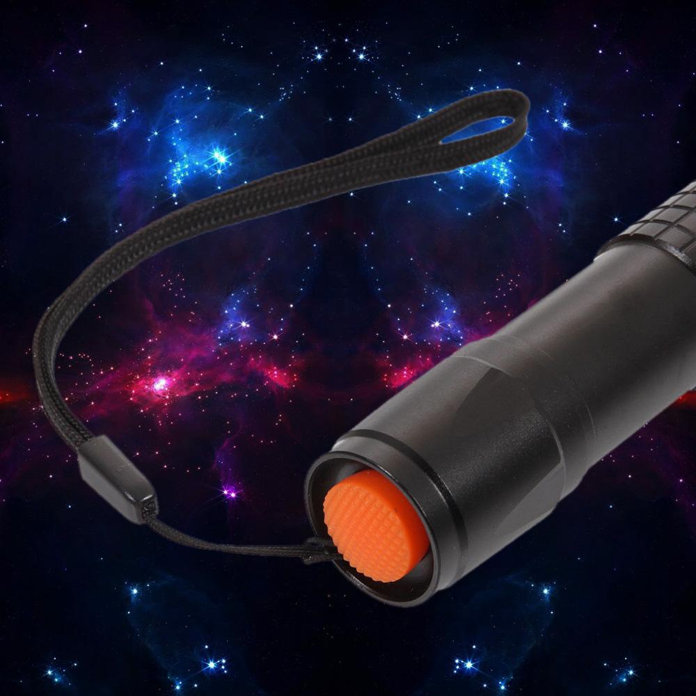 Laser618 500mw 405nm Puntatore laser viola in lega di alluminio nero