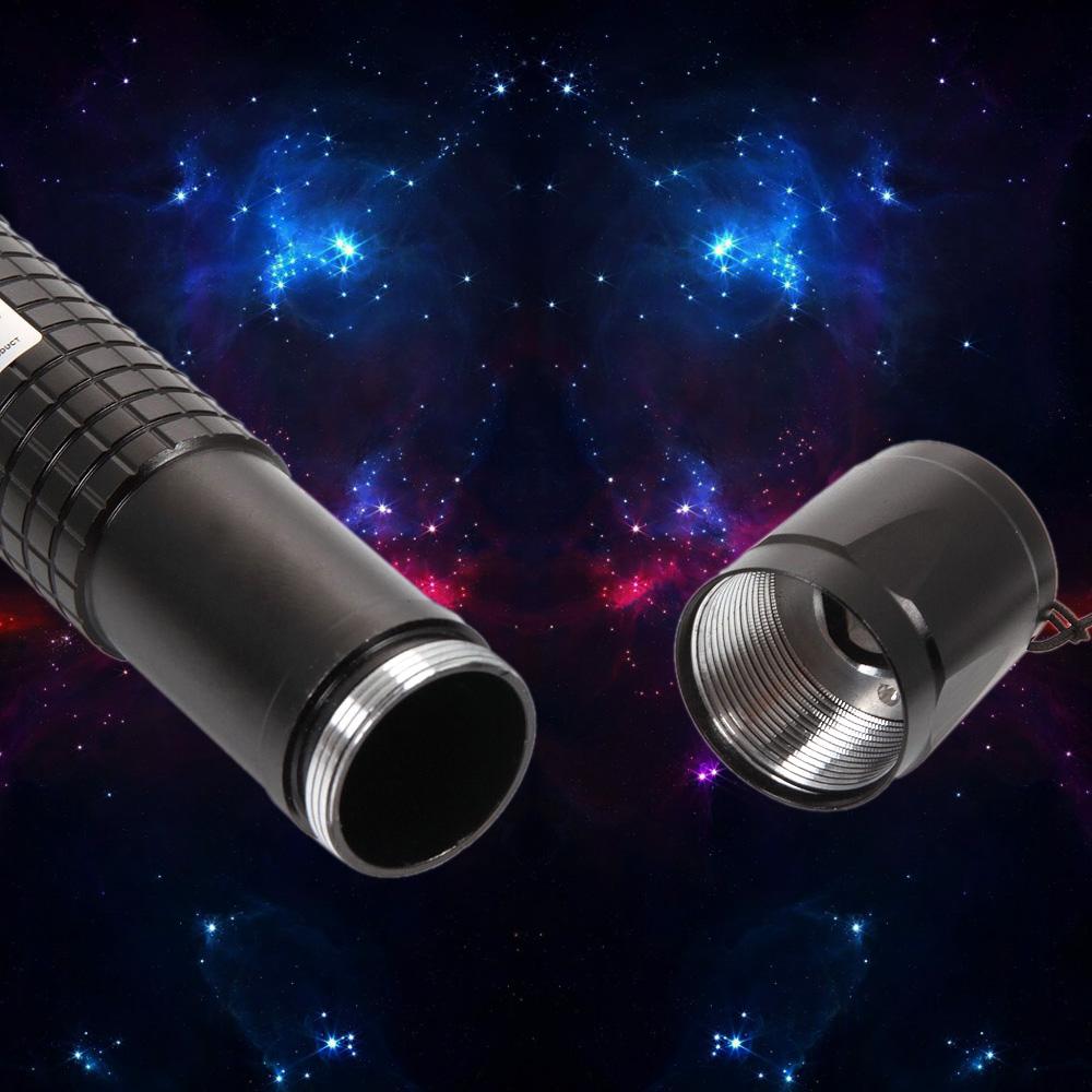 laser618 500mw 405nm Aluminum Alloy Purple Laser Pointer Black