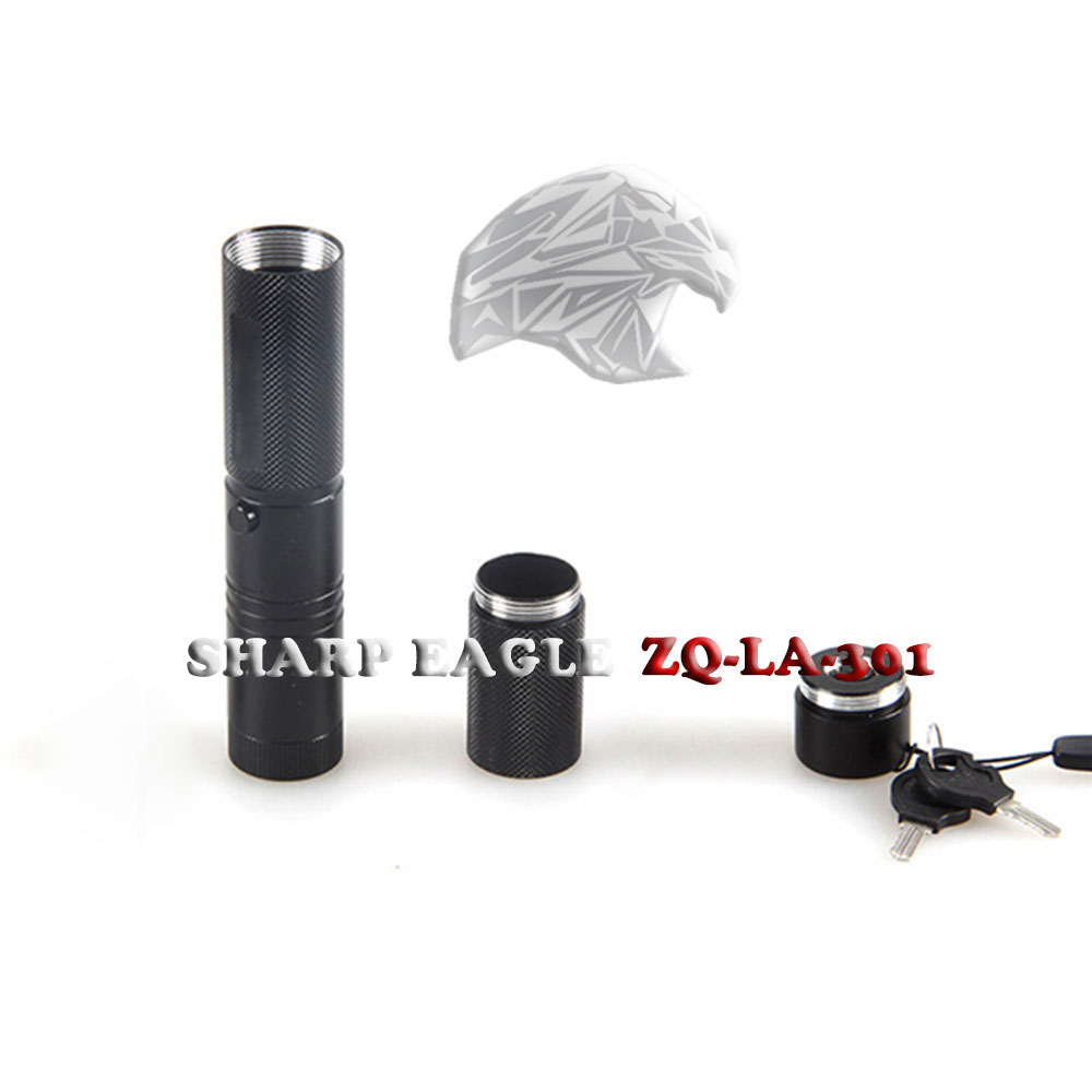 Laser 301 SHARP EAGLE 1000mW 445nm Blue Light Light Impermeabile puntatore laser a singolo punto di stile nero