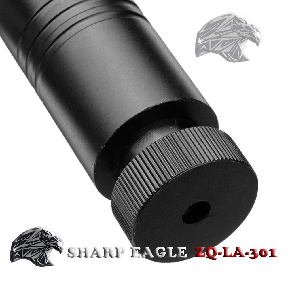 Laser 301 SHARP EAGLE 4000mW 445nm faisceau bleu lumière style point unique pointeur laser noir