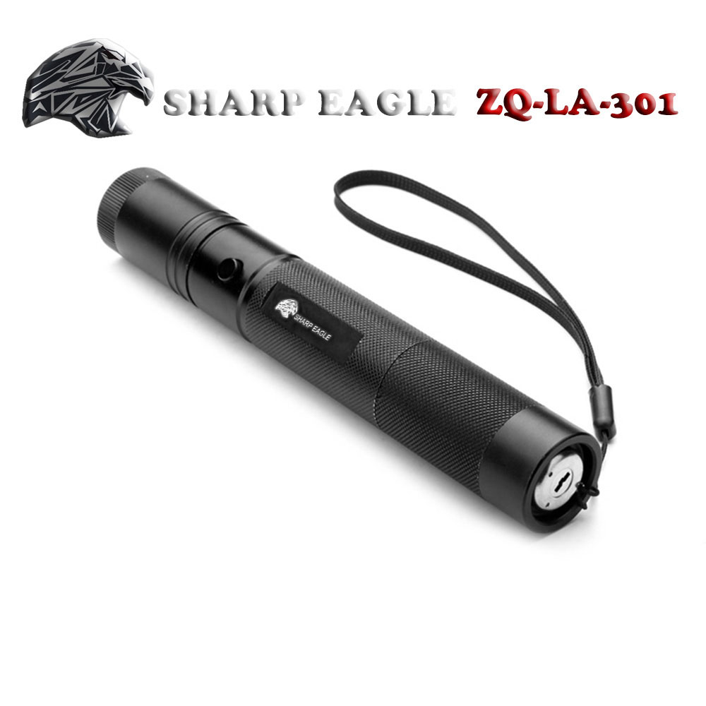 Laser 301 SHARP EAGLE 3000mW 450nm Blue Beam Light Impermeabile puntatore laser stile punto singolo nero