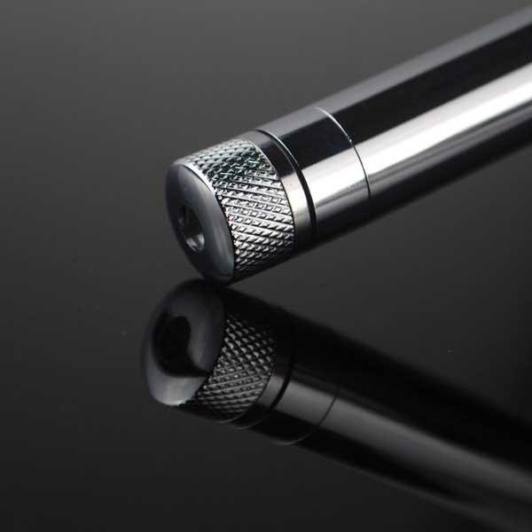 100mW 405nm neue stahlgehäuse kaleidoskop sternenhimmel stil lila licht wasserdicht laserpointer silber