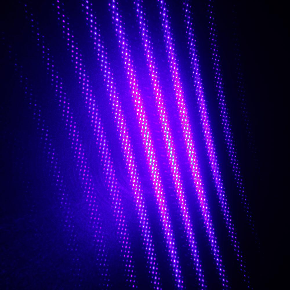 Mirino laser a luce blu a cinque punte da 10000 mW Argento