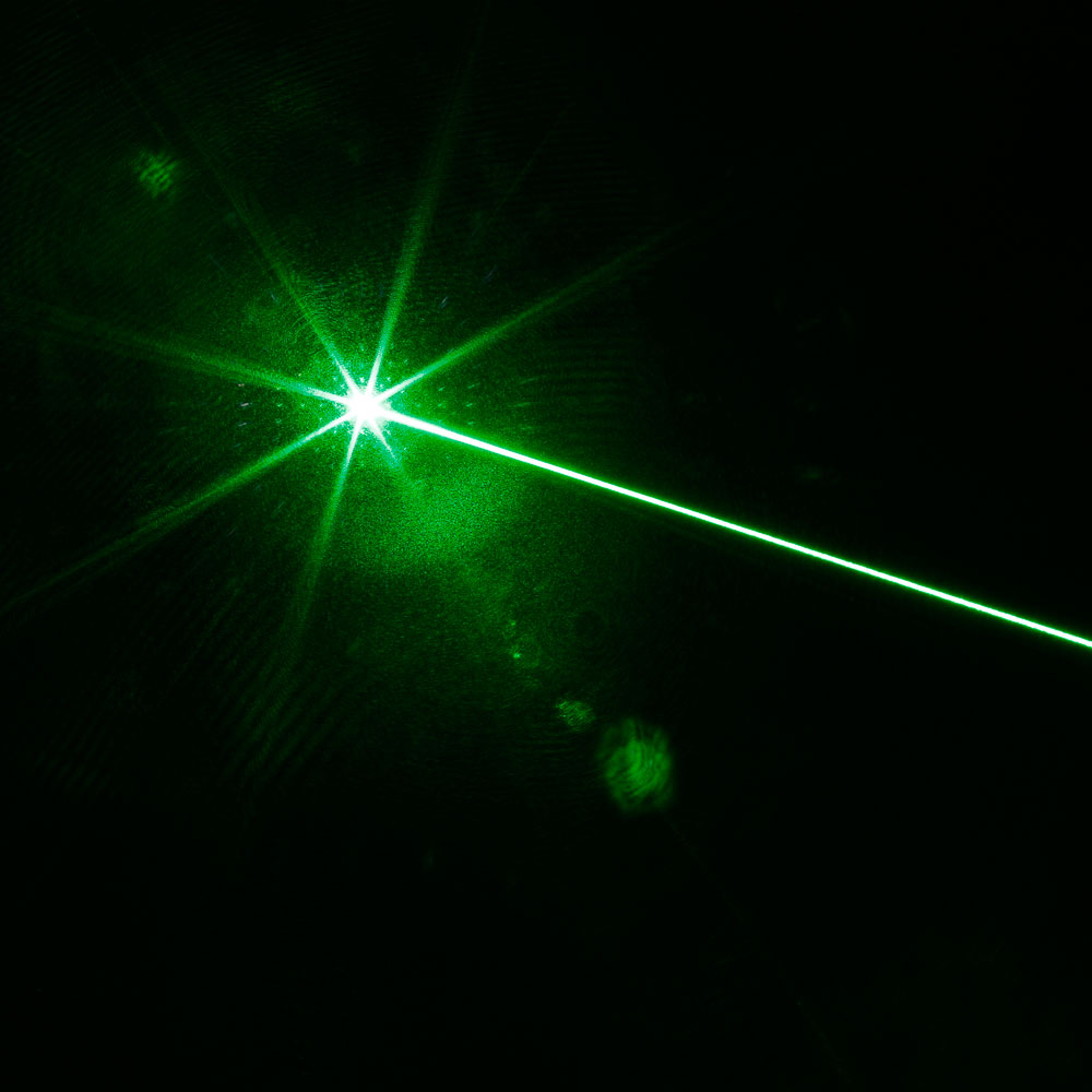 10000mW High Power Attacked Head Grünes Licht Laserpointer Anzug Silber