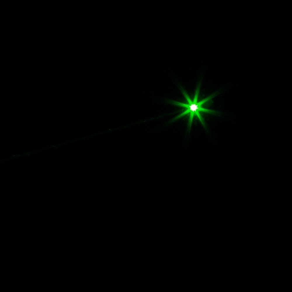 Puntatore laser in lega di luce verde ad alta potenza 30000mw 532nm di stile separato nero