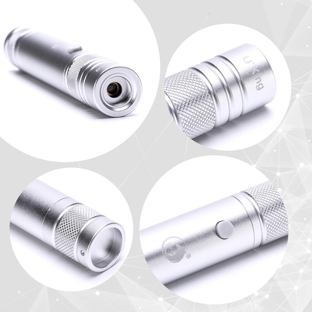 UKing ZQ-J35 5mW 532nm 5 em 1 ponteiro laser USB
