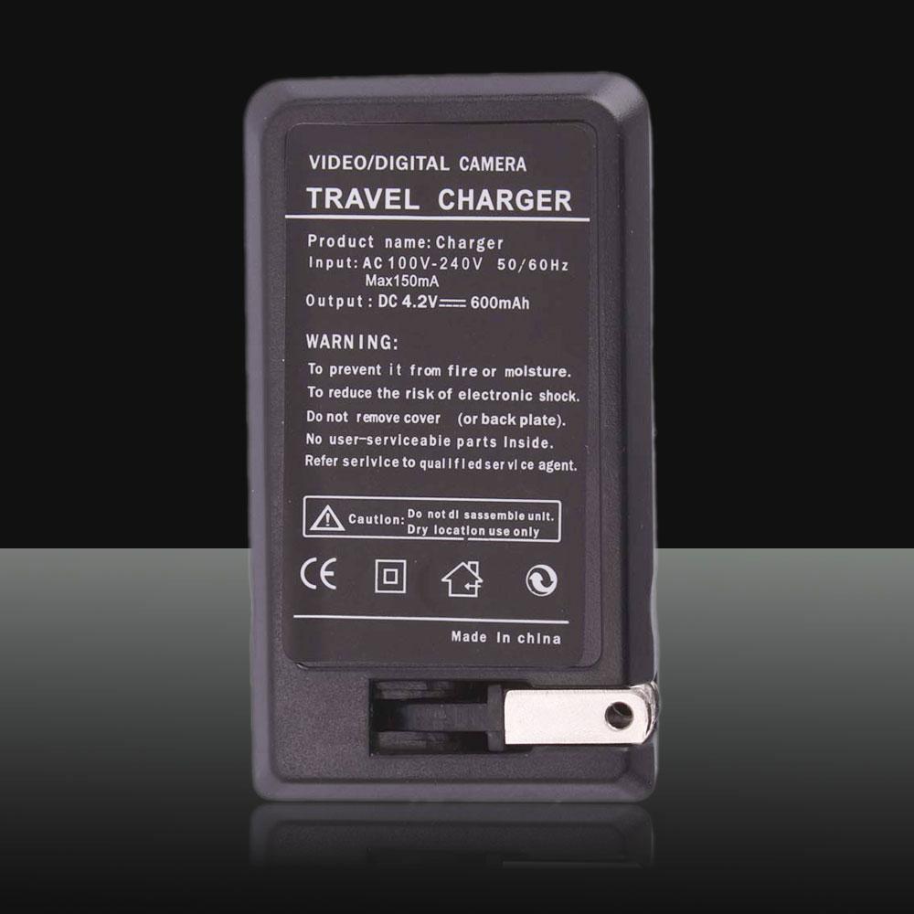 18650 Cargador de batería (110V ~ 240V) Negro