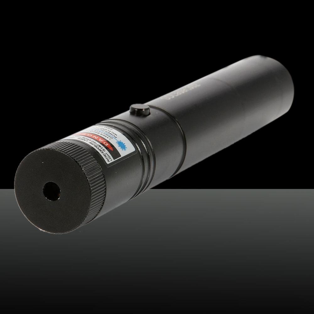 150mW 405nm Ajuster la mise au point stylo pointeur laser bleu-violet avec batterie