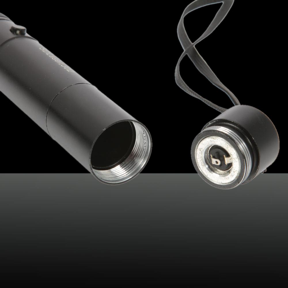 150mW 405nm Regola messa a fuoco Penna puntatore laser blu-viola con batteria