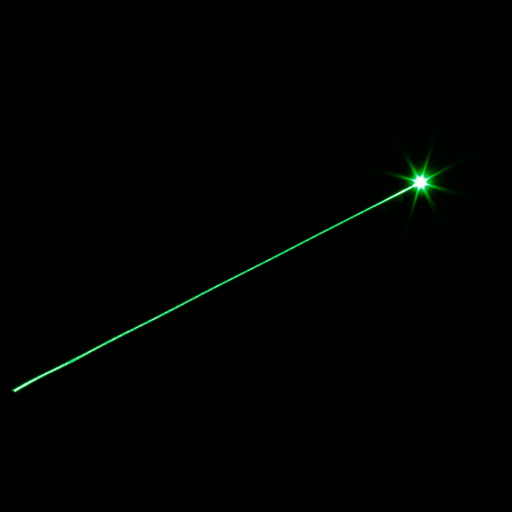 Laser 302 230mW 532nm Adjust Focus Flashlight Style Green Laser Pointer Pen Black with 18650 Battery