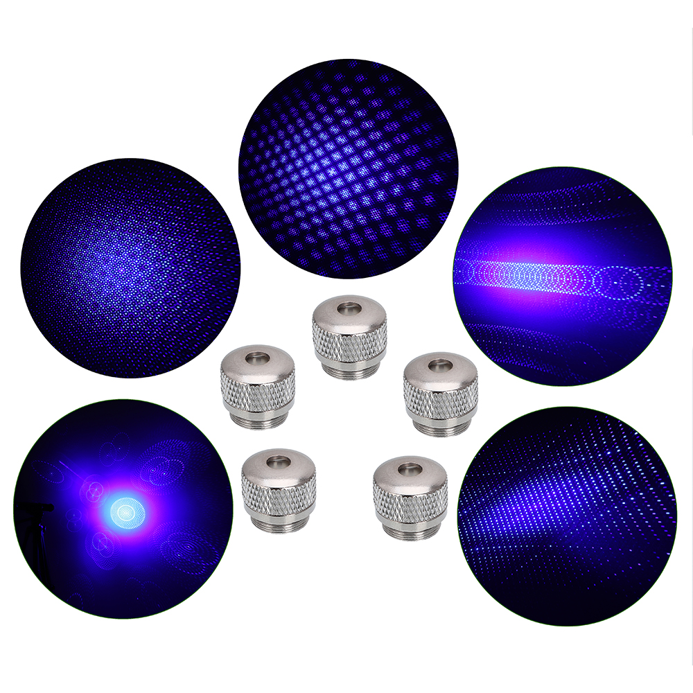 10000mw 450nm Gatling Burning High Power Blue Laser pointer kits Black