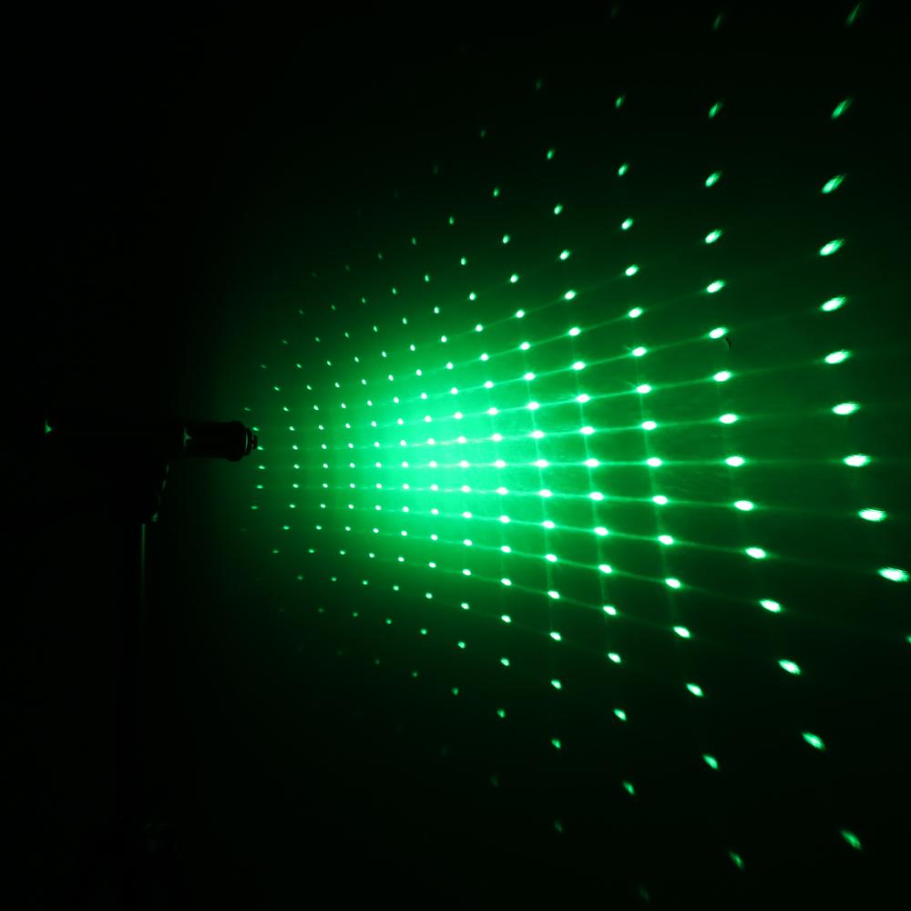 50000mw 520nm Gatling Burning High Power Green puntero láser kits Oro