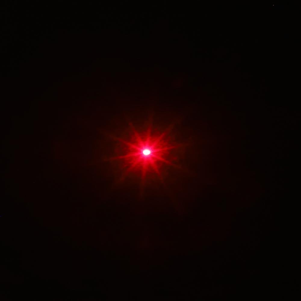 Stylo pointeur laser rechargeable 200mW 650nm faisceau rouge lumière argent