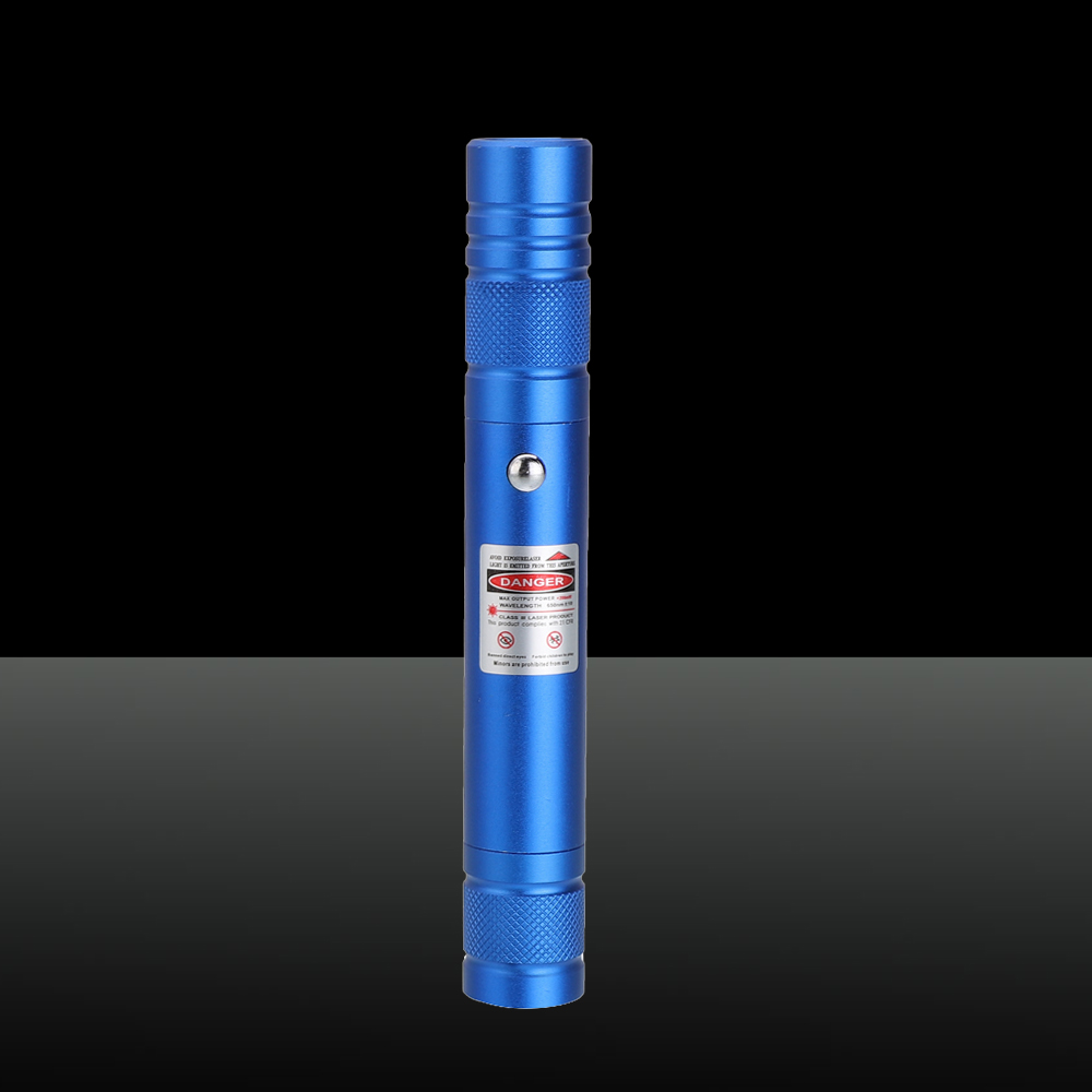 200mW 650nm wiederaufladbarer roter Laserpointer-Lichtstrahl Einzelpunkt-Blau