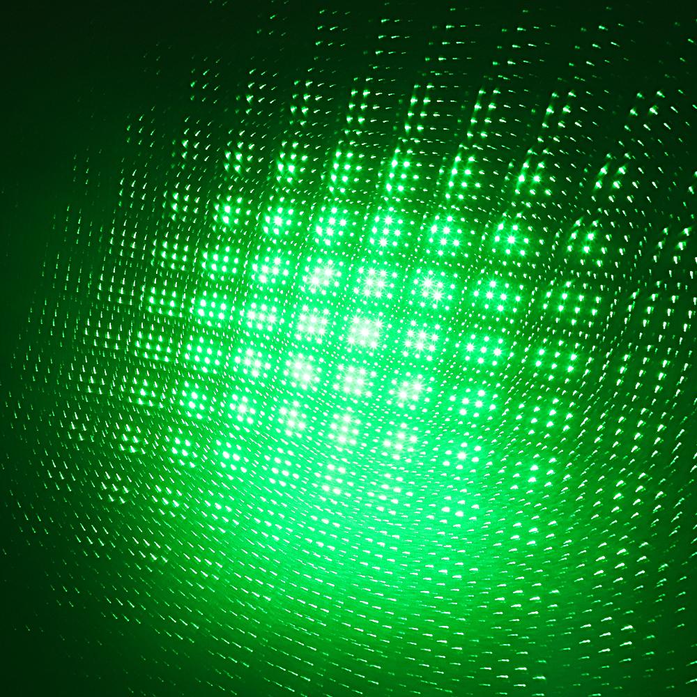 Prata estrelado recarregável do feixe do ponteiro do laser de 200mW 532nm luz estrelado