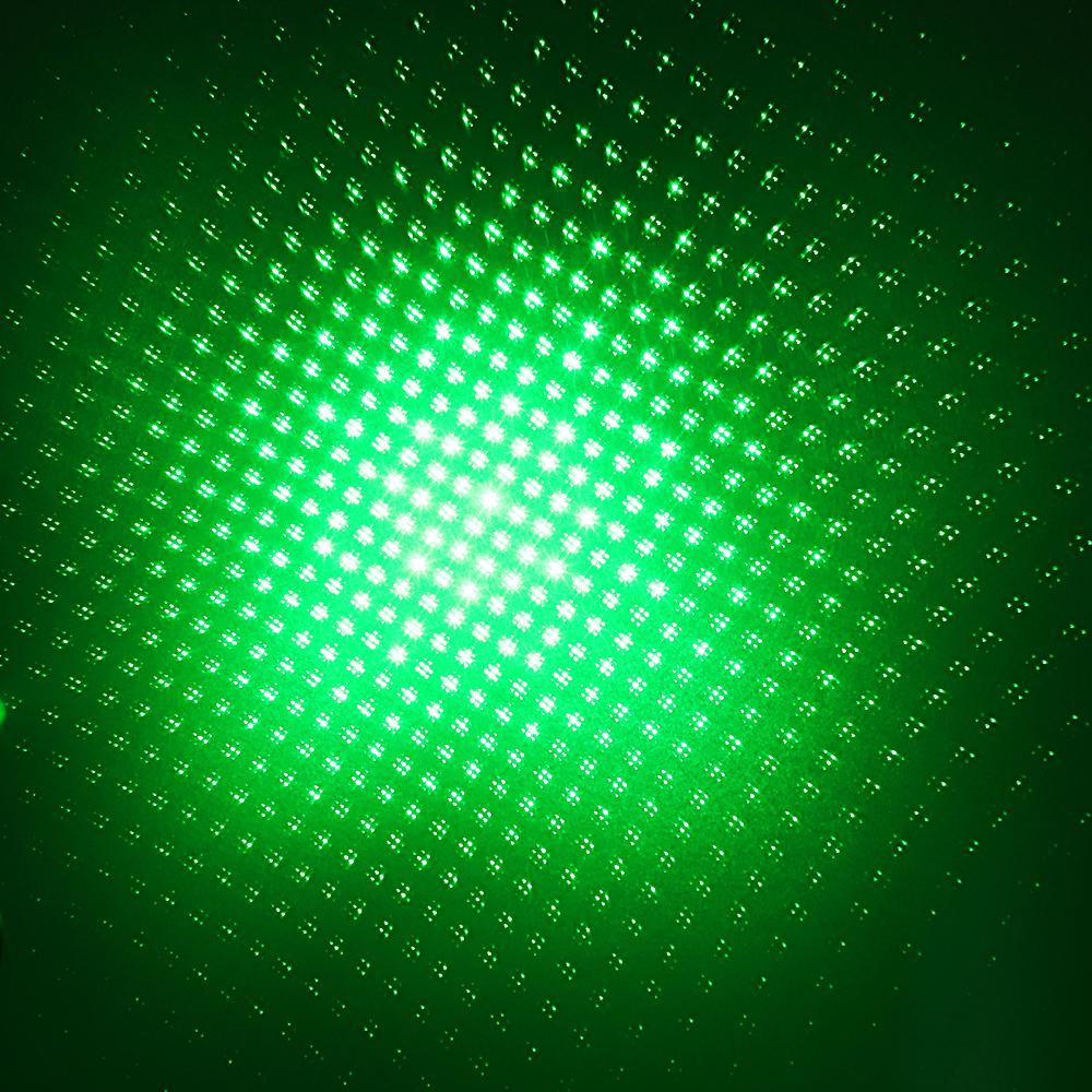 Luz de haz láser verde recargable de 200 mW 532 nm Luz de estrella estrellada