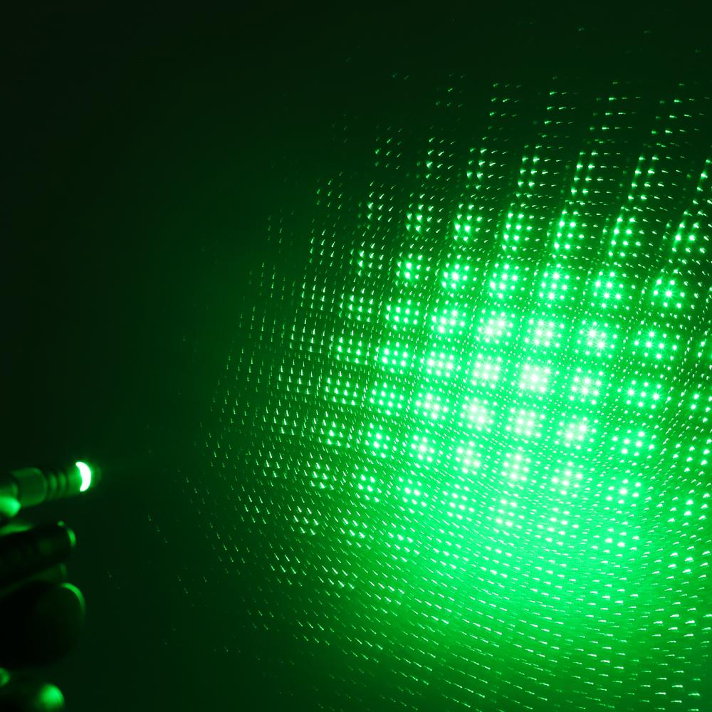 200mw 532nm recarregável verde ponteiro laser feixe de luz estrelado azul