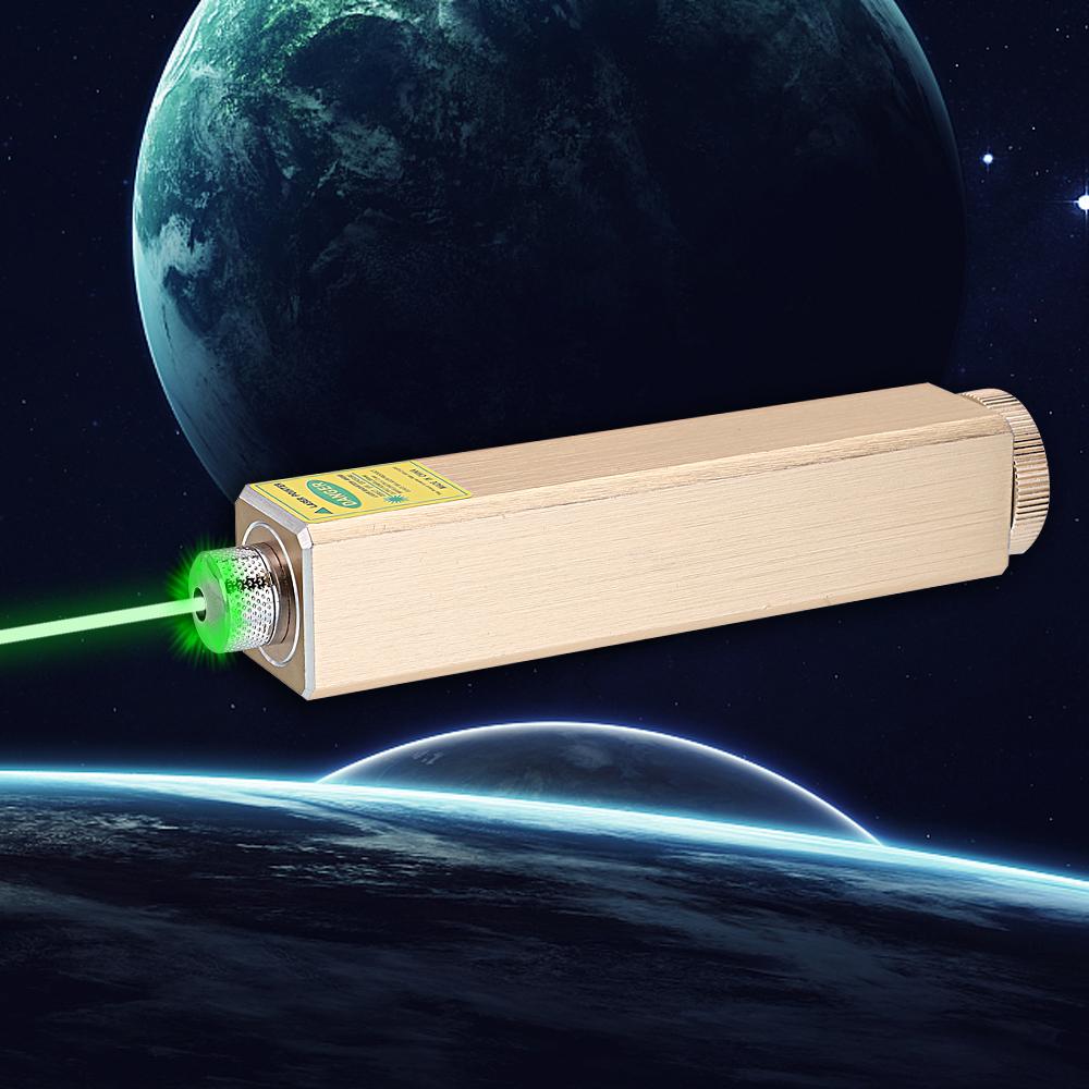 305 200 mW 532 nm 5 en 1 Luz de haz de puntero láser verde recargable Luz estrellada Láser dorado