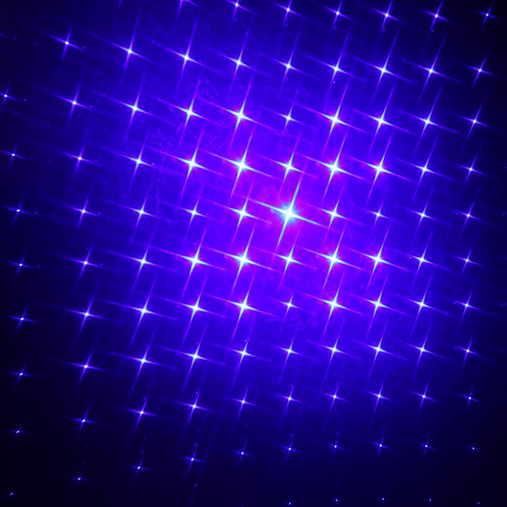 50000mw 450nm Gatling Burning Kits de pointeur laser bleu haute puissance avec batterie noire