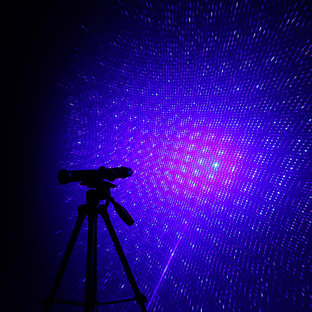 50000mw 450nm 5 en 1 de alta potencia recargable puntero láser azul dorado