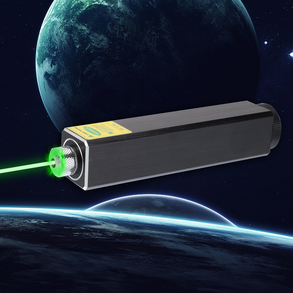 305 200mW 532nm 5 em 1 Recarregável Verde Laser Pointer Beam Light Starry Laser Preto
