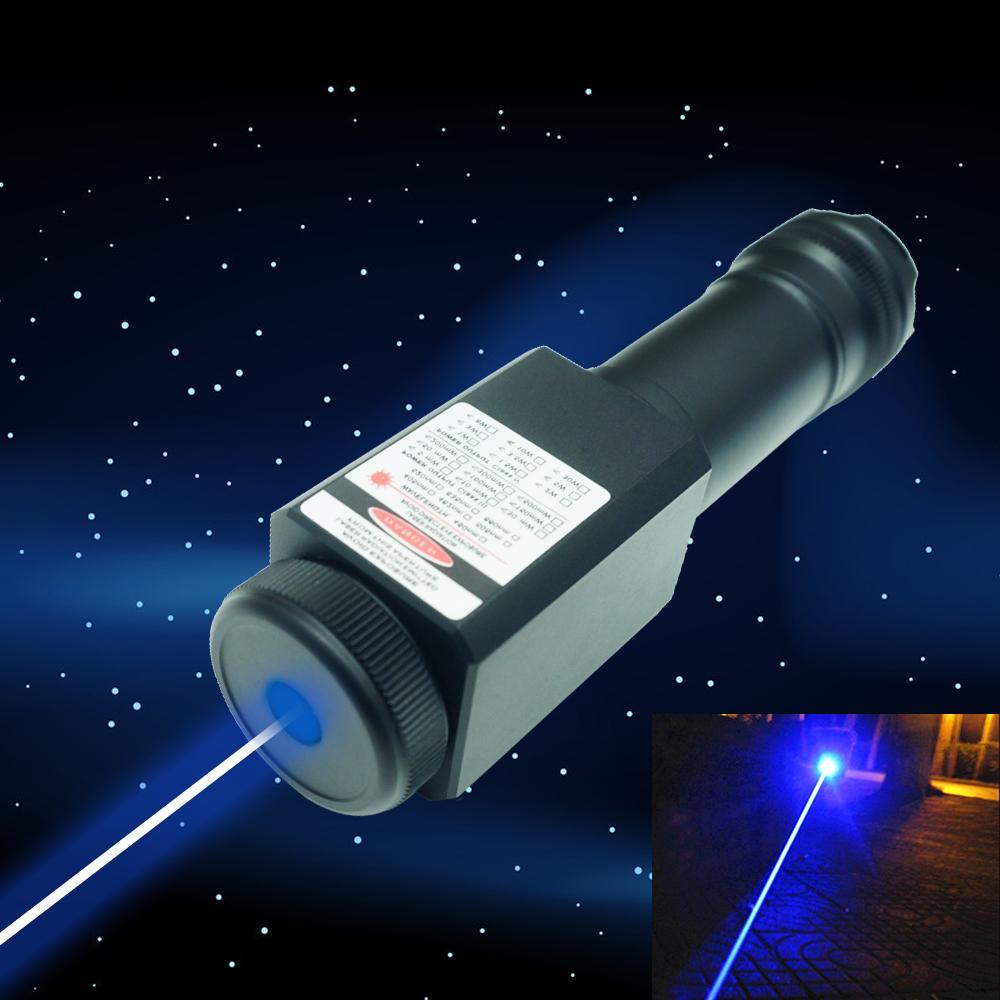 QL465 50000mw 465nm Mergulho Queima de Alta Potência Azul Laser Pointer