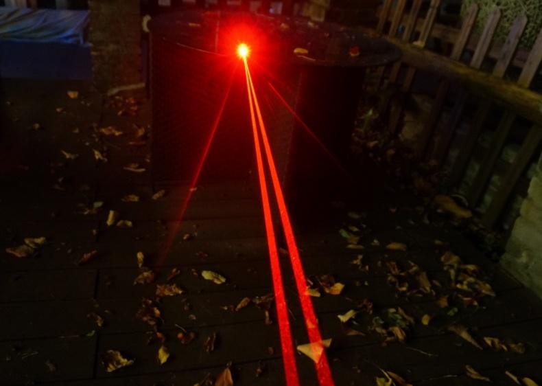 QL638 50000mW 638nm Tauchen roter Laserpointer mit hoher Leistung