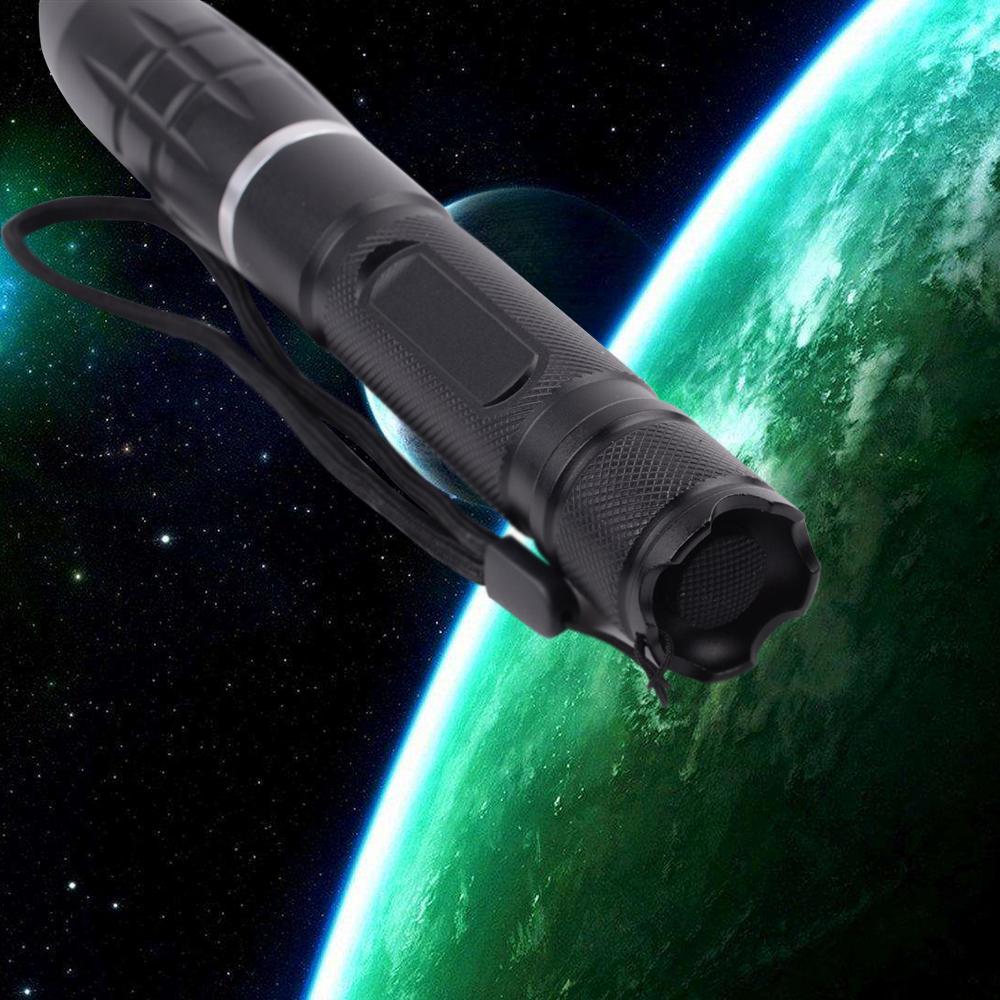 500mw 450nm kit puntatore laser blu che brucia 008-880 nero