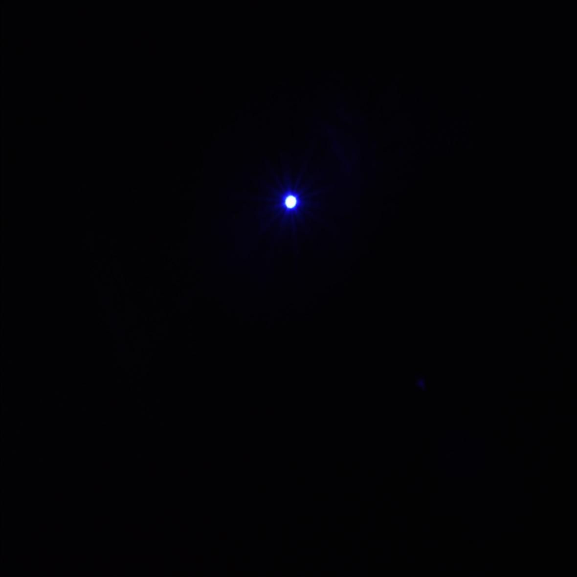 10000mW cinco cabeça azul luz Laser escopo preto