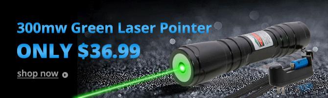 Pointeur laser 300mw